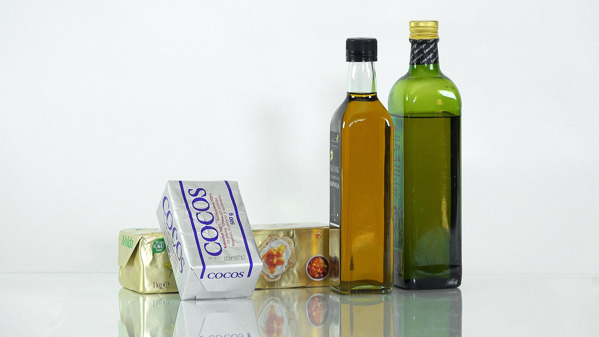 nyttig fett och olja